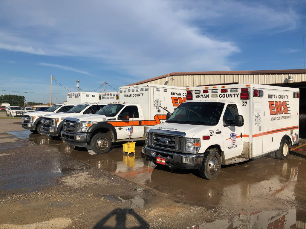 clean ambulances